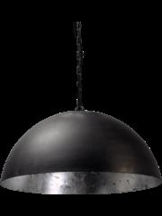 Master Light Hanglamp Larino Zwart/Zilver