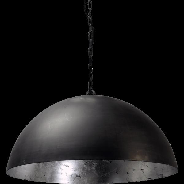 Master Light Hanglamp Larino Zwart/Zilver 60 cm
