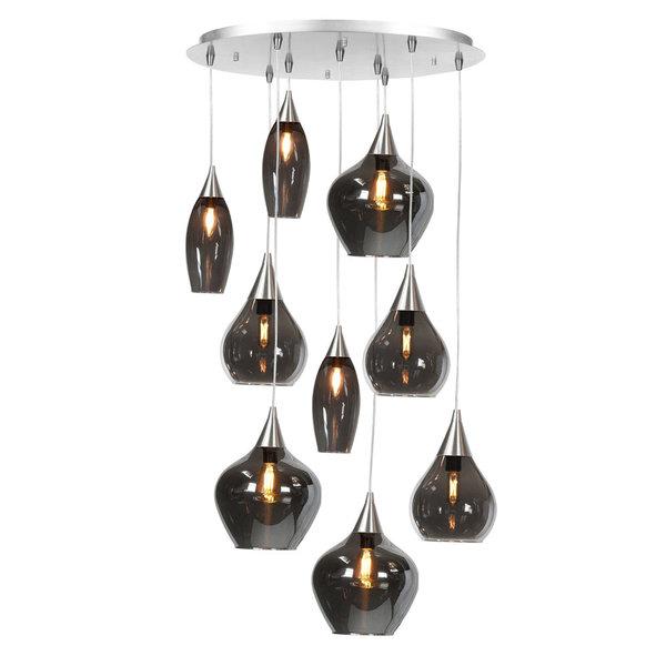 HighLight lampen  Hanglamp Cambio 9 lichts