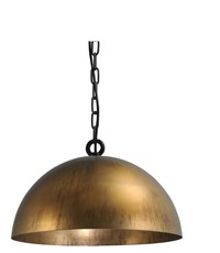 Master Light Hanglamp Larino Antique Brass