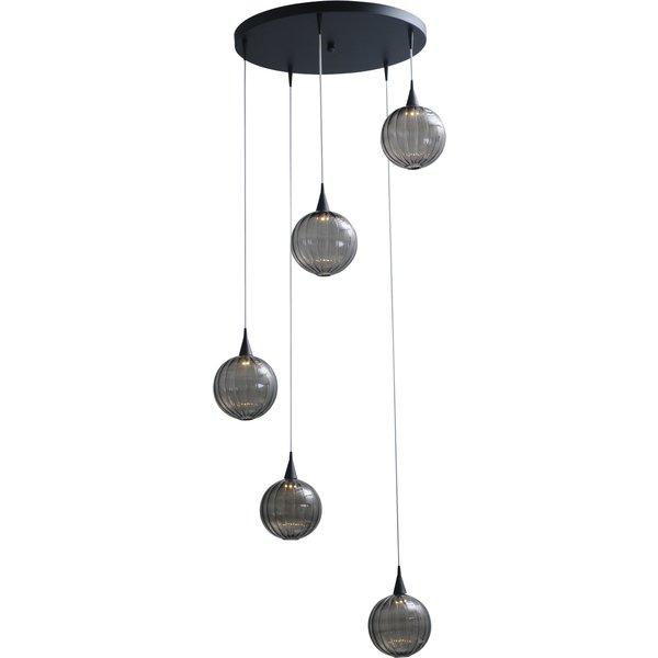 Master Light Hanglamp Bocca  rond 5 lichts