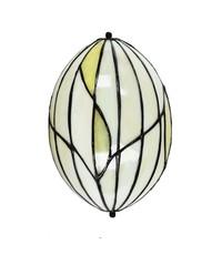 Art Deco Trade Wandlamp Tiffany Nature small