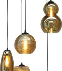 Master Light Hanging lamp Quinto Round 5 lights