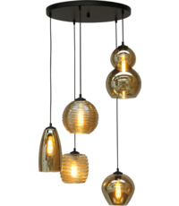 Master Light Hanging lamp Quinto Round 5 lights