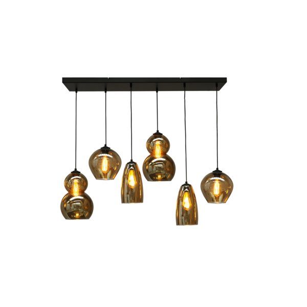 Master Light Quinto hanging lamp 6 lights