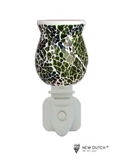 Sweet Lake Compagny Stopcontact lampje Night Light Mozaiek   Green