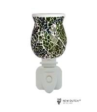 Sweet Lake Compagny Stopcontact lampje Night Light Mozaiek   Green