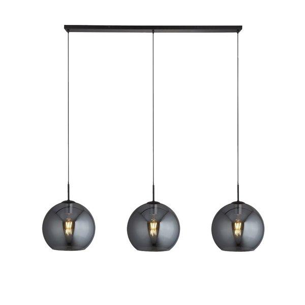 Searchlight Hanglamp Balls  3 lichts  Smoke