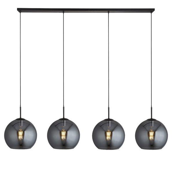 Searchlight Hanging lamp Balls 4 light Smoke
