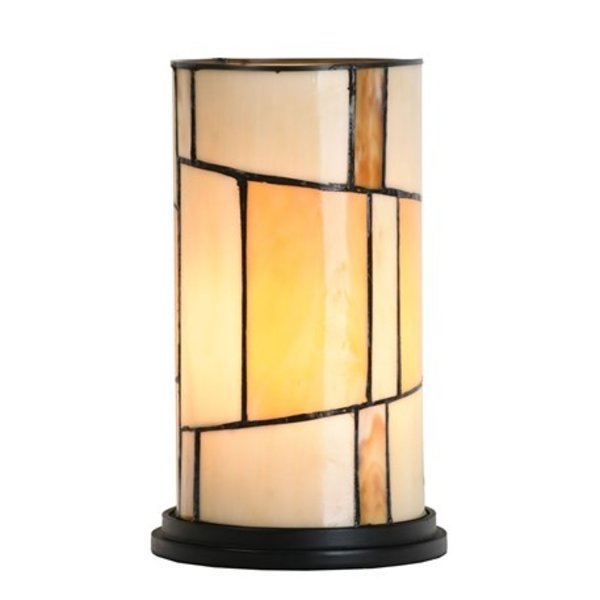 Art Deco Trade Tafellamp Tiffany Roundabout