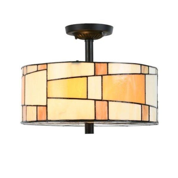 Art Deco Trade Plafondlamp Tiffany Roundabout