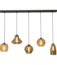 Master Light Quinto hanging lamp 5 lights