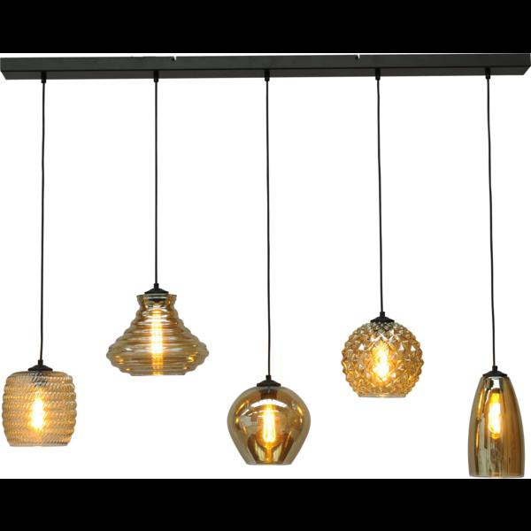 Master Light Quinto hanging lamp 5 lights