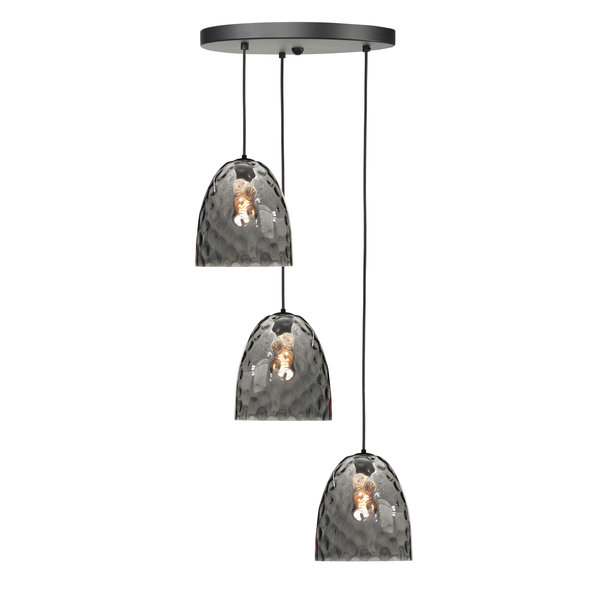 HighLight  Hanglamp  Bubbles 3 lichts rond