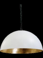 Master Light Larino hanging lamp White / Gold