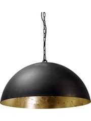 Master Light Hanglamp Larino Zwart/Goud