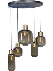 Master Light Hanging lamp Lett Matt Gold