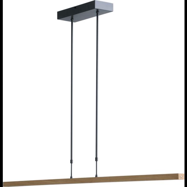 Master Light Hanglamp  Oak Black met hout