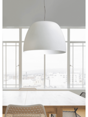 Master Light Hanging lamp Industria Ogiva White