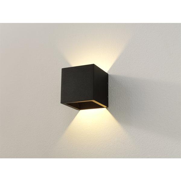 Licht en  Wonen Wandlamp Cube