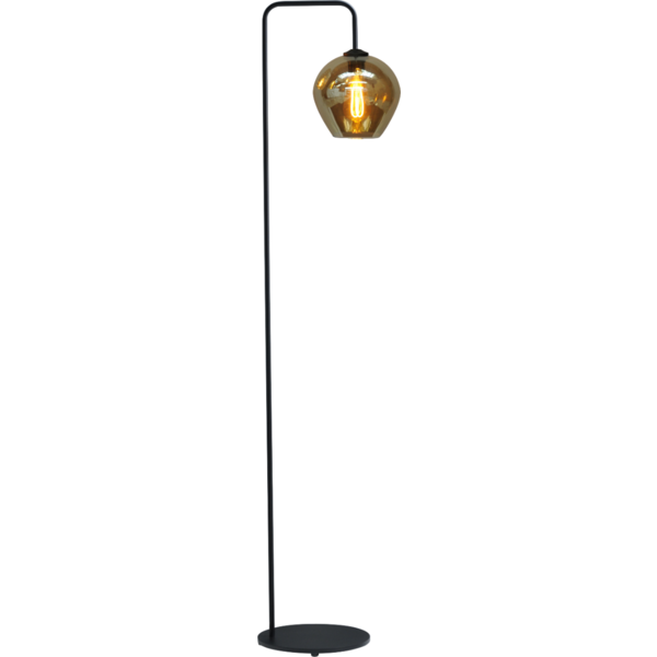 Master Light Quinto Smoke floor lamp