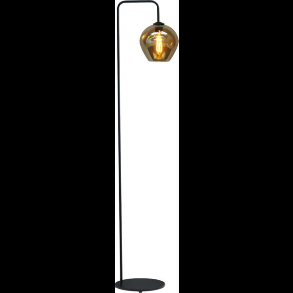 Master Light Vloerlamp Quinto Smoke