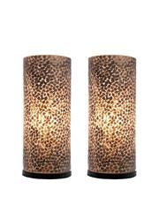 Villaflor Table lamp Wangi Gold 40 cm