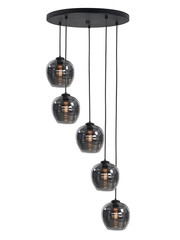 HighLight  Hanging lamp Smoke around 5 lights