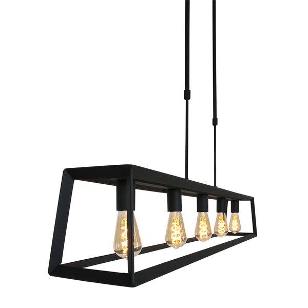 Steinhauer Hanglamp Buckley Mexlite 5  lichts