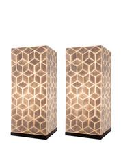 Villaflor Tafellamp  Cubes