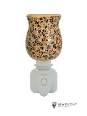 Sweet Lake Compagny Electrical outlet light Night Light Mosaic Brown - Copy - Copy