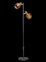 ETH Vloerlamp Sledge Gold-zwart