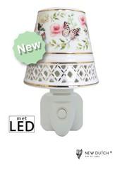 Sweet Lake Compagny Power socket Night Light Romantic Butterfly