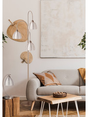 HighLight  Floor lamp Whires 3 lights