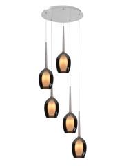 HighLight  Hanging lamp Belle round 5 lights