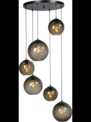 Master Light Hanging lamp Baloton 6 lights round