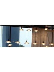 Master Light Hanglamp Melani  3  lichts zwart  Led