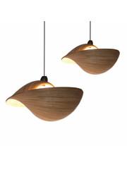 Villaflor Hanging lamp Bamboo Shell
