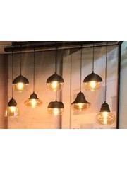 Master Light Hanglamp Quinto Opaco 8 lichts