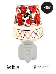 Sweet Lake Compagny Socket Night Light Red roses