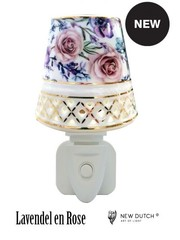 Sweet Lake Compagny Power socket Night Light Lavender and Rose