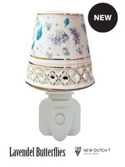 Sweet Lake Compagny Power socket Night Light Lavender Butterfly