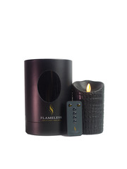 Flameless Led Candles - black