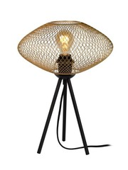 Lucide Tafellamp Mesh Ufo goud/messing