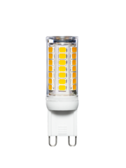 ETH Led lamp 2,3  watt G9  via stappen dimmer