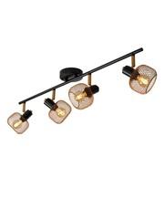 Lucide Plafondspot Maren 4  lichts  mat/goud