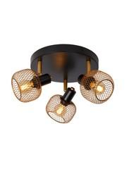 Lucide Ceiling spotlight Maren 3 lights matt-gold