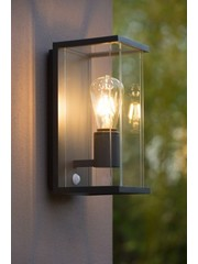 Lucide Outdoor lamp Claire with motion sensor