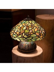 Art Deco Trade Tafellamp Tiffany Settle Down