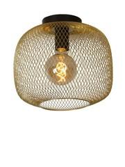 Lucide Plafondlamp Mesh  30 cm Goud